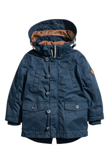 3-in-1-parka with a hood