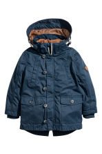 3-in-1-parka with a hood - Dark blue - Kids | H&M 2