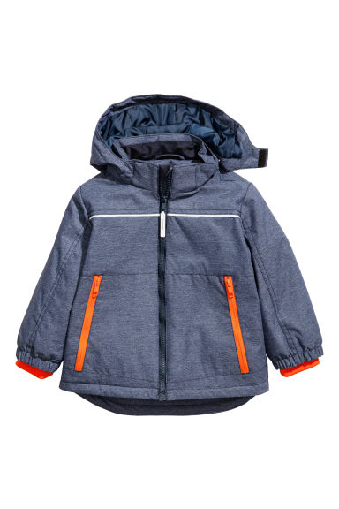 Padded outdoor jacket - Dark denim blue - Kids | H&M 1