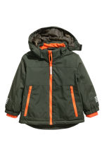 Padded Outdoor Jacket - Khaki green - Kids | H&M CA 2