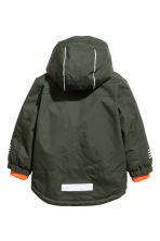 Padded Outdoor Jacket - Khaki green - Kids | H&M CA 3