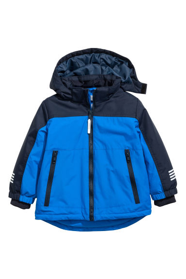 Padded outdoor jacket - Cornflower blue - Kids | H&M CN