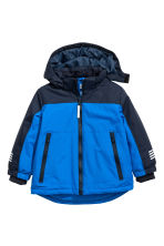 Padded Outdoor Jacket - Cornflower blue - Kids | H&M CA 1