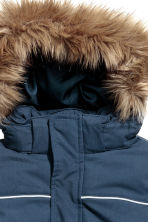 Padded jacket - Dark blue -  | H&M CN 5