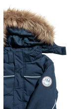 Padded jacket - Dark blue -  | H&M CN 3