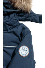 Padded jacket - Dark blue - Kids | H&M 4