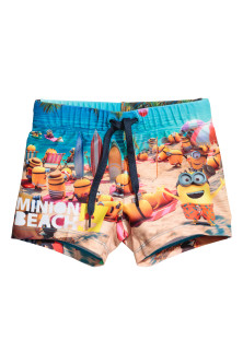 Short de bain avec impression