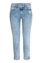 Slim Regular Boyfriend Jeans - Light denim blue - Ladies | H&M 2