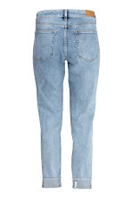 Slim Regular Boyfriend Jeans - Light denim blue - Ladies | H&M 3