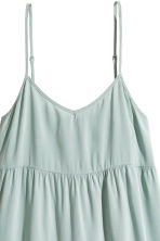 Lyocell-blend tiered dress - Dusky green - Ladies | H&M 4