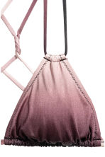 Triangle bikini top - Purple - Ladies | H&M 3