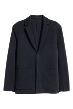 Jersey jacket Slim fit - Dark blue - Men | H&M 2