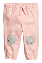 Powder pink/Cat