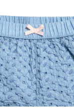 Embroidered puff shorts - Blue - Kids | H&M 2