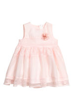 Sleeveless dress - Light pink - Kids | H&M 1