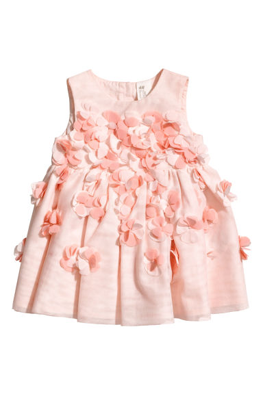 Mesh dress - Light pink - Kids | H&M