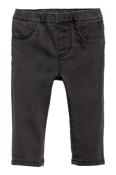 Leggings in denim - Nero -  | H&M CH