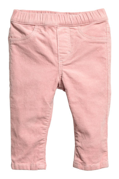 Denim leggings - Light pink -  | H&M 1