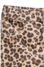 Denim leggings - Leopard print - Kids | H&M 3