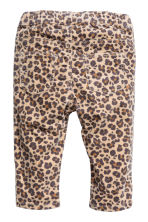 Denimleggings - Leopardmönstrad -  | H&M FI 2