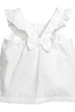 3-piece cotton set - White/Dark blue/Striped -  | H&M 3
