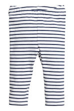 3-piece set - White/Dark blue/Striped - Kids | H&M 2
