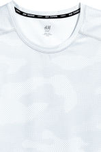 Sports vest top - White/Patterned - Men | H&M 3