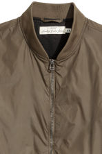 Nylon bomber jacket - Khaki - Men | H&M CN 3
