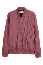 Nylon bomber jacket - Old rose - Men | H&M CN 2