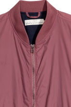 Nylon bomber jacket - Old rose - Men | H&M CN 3
