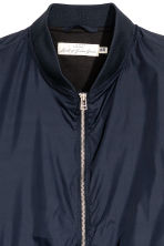 Nylon bomber jacket - Dark blue - Men | H&M 3