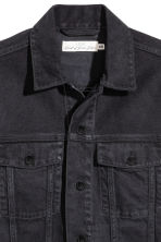 Denim jacket - Black denim - Men | H&M CN 2