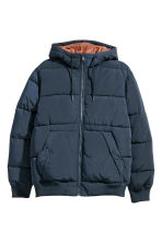 Padded jacket - Dark blue -  | H&M CN 2