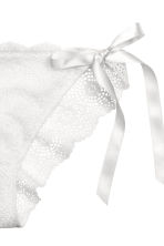 Lace bikini briefs - White - Ladies | H&M 3