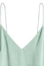 V-neck top - Mint green - Ladies | H&M 3