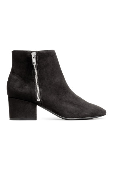 Zipped ankle boots - Black - Ladies | H&M 1