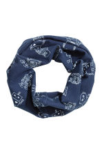 Hat and Tube Scarf - Dark blue/Robot - Kids | H&M 2