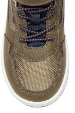 Pile-lined hi-tops - Khaki/Dark blue - Kids | H&M CN 3