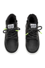 Warm-lined hi-tops - Black -  | H&M 2