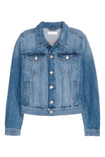 Short denim jacket - Denim blue - Ladies | H&M 2