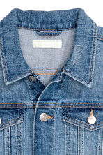 Short denim jacket - Denim blue - Ladies | H&M 3
