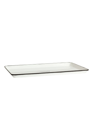 Metal tray - White - Home All | H&M GB