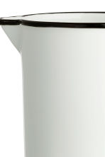 Metal Pitcher - White - Home All | H&M CA 2