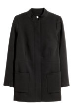 H&M+ Short Coat - Black - Ladies | H&M CA 2
