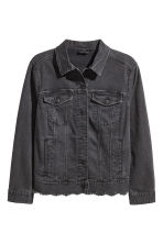 H&M+ Denim jacket - Black -  | H&M 2