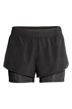 Running shorts - Black - Ladies | H&M 2