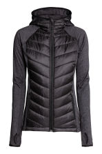 Padded outdoor jacket - Black - Ladies | H&M CN 2