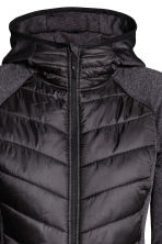 Padded outdoor jacket - Black - Ladies | H&M CN 3