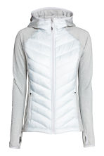 Padded outdoor jacket - Light grey - Ladies | H&M CN 2