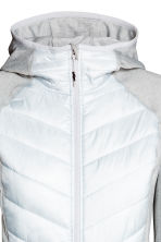 Padded outdoor jacket - Light grey - Ladies | H&M CN 3